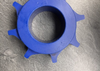 POM Blauw tandwiel